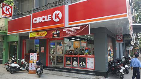 circle K chùa láng
