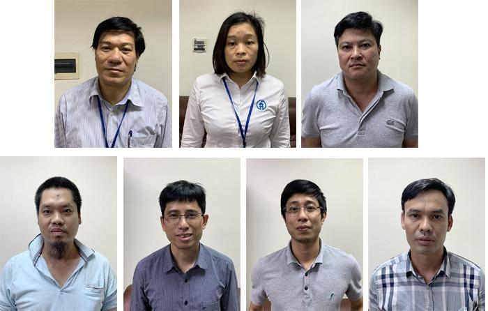 giám đốc nguyễn nhật cảm và 6 bị can bị bắt